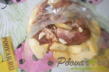 Свиная грудинка запечённая с картофелем Шаг 8 (картинка)