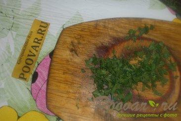 Салат с красной редькой Ред Мит Шаг 10 (картинка)