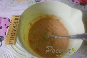 Шарлотка с морковью Шаг 7 (картинка)