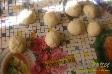 Жареные пирожки с капустой из дрожжевого теста Шаг 14 (картинка)