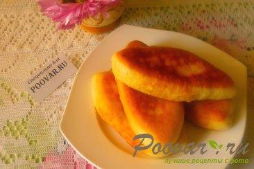 Жареные пирожки с капустой из дрожжевого теста Шаг 20 (картинка)