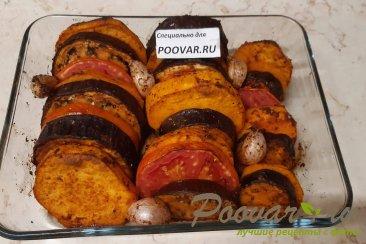 Овощи запеченные в духовке Изображение