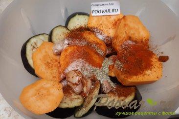 Овощи запеченные в духовке Шаг 6 (картинка)