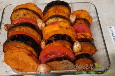 Овощи запеченные в духовке Шаг 8 (картинка)