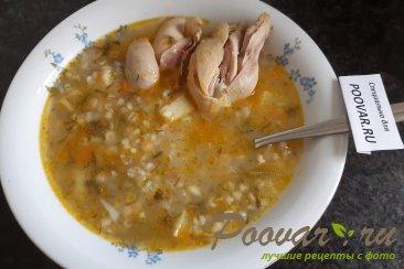 Куриный суп с перловкой Шаг 13 (картинка)