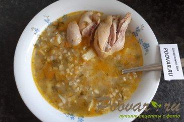 Куриный суп с перловкой Изображение