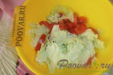 Салат из пекинской капусты с сыром Шаг 5 (картинка)