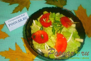 Салат из пекинской капусты с сыром Шаг 16 (картинка)