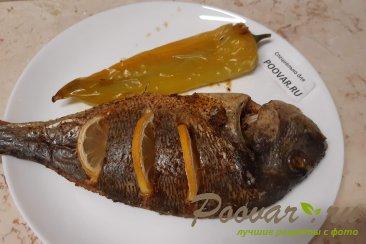 Рыба запеченная в духовке целиком Изображение