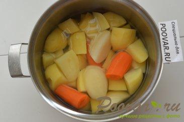 Картофельные оладьи с мясом и сыром Шаг 1 (картинка)