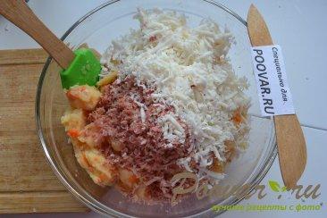Картофельные оладьи с мясом и сыром Шаг 5 (картинка)
