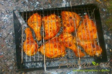 Запечённая курица на  мангале Шаг 13 (картинка)