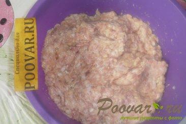 Мясные зразы с луком и грибами Шаг 4 (картинка)