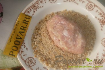 Мясные зразы с луком и грибами Шаг 12 (картинка)