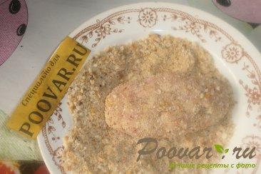 Мясные зразы с луком и грибами Шаг 13 (картинка)