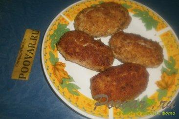 Мясные зразы с луком и грибами Шаг 16 (картинка)