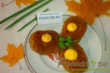 Гречневые котлеты с картофелем Изображение