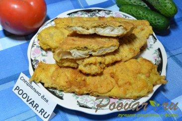Жареное филе рыбы на сковороде Изображение