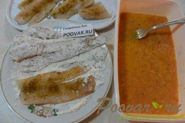 Жареное филе рыбы на сковороде Шаг 6 (картинка)