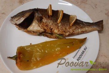 Рыба запеченная в духовке целиком Шаг 10 (картинка)