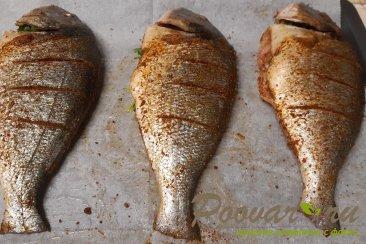 Рыба запеченная в духовке целиком Шаг 6 (картинка)
