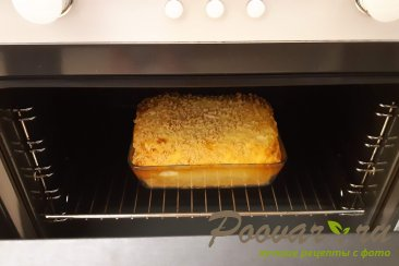 Тертый пирог с творогом Шаг 14 (картинка)