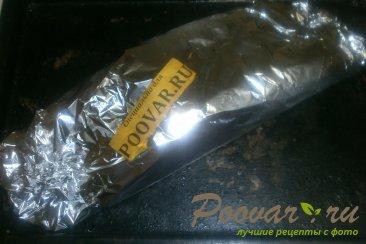 Скумбрия в фольге в духовке Шаг 7 (картинка)