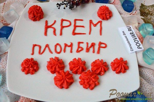 Крем пломбир для торта Изображение