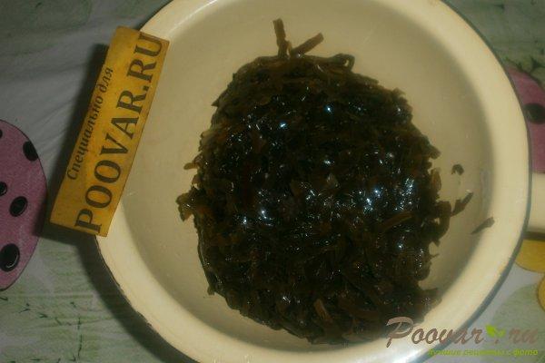 Салат из морской капусты с яйцом Шаг 2 (картинка)