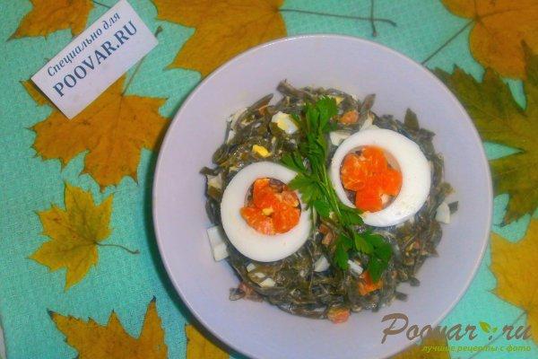 Салат из морской капусты с яйцом Шаг 12 (картинка)