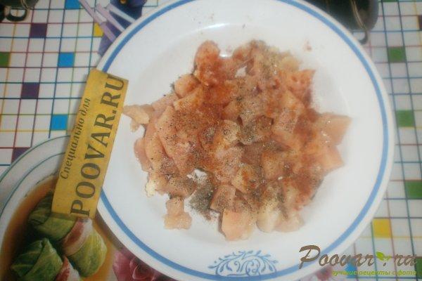 Пирог с картофелем и курицей из дрожжевого теста Шаг 3 (картинка)