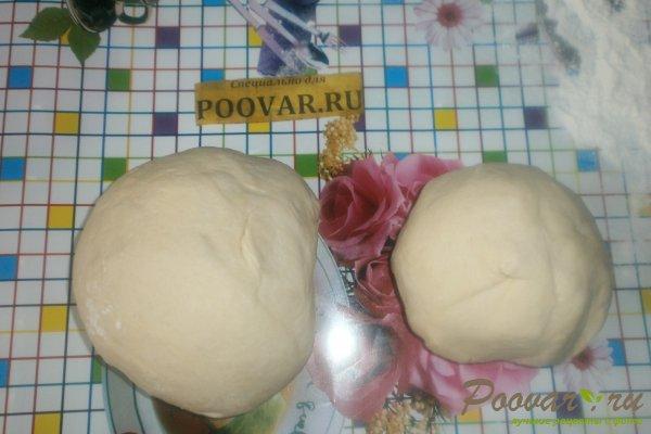 Пирог с картофелем и курицей из дрожжевого теста Шаг 8 (картинка)