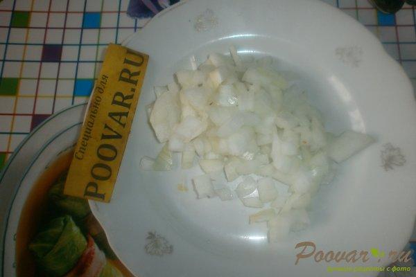 Пирог с картофелем и курицей из дрожжевого теста Шаг 4 (картинка)