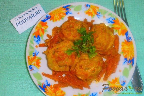 Ленивые пельмени из лаваша с овощами Изображение