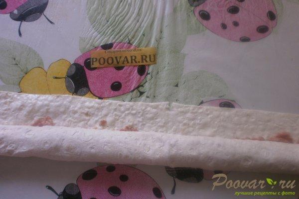 Ленивые пельмени из лаваша с овощами Шаг 12 (картинка)