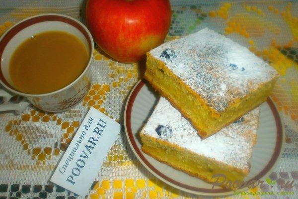 Банановый пирог с яблоками Изображение