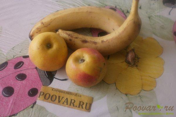 Банановый пирог с яблоками Шаг 1 (картинка)