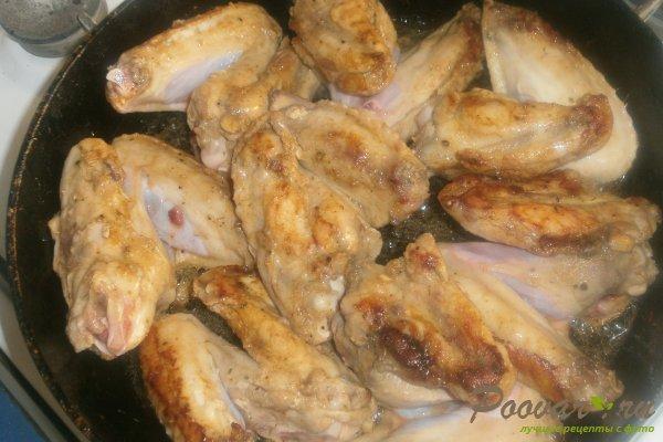 Куриные крылышки с овощами Шаг 7 (картинка)