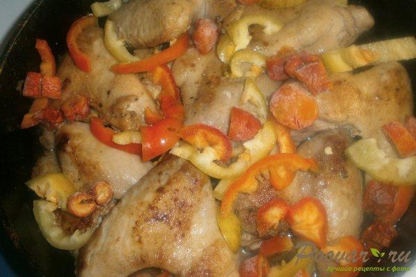 Куриные крылышки с овощами Шаг 12 (картинка)