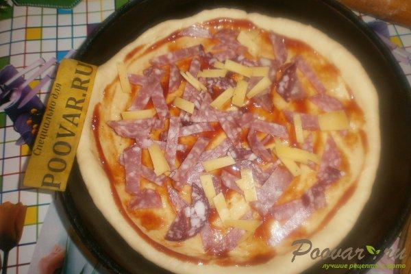 Пицца с вялеными помидорами и шпинатом Шаг 9 (картинка)