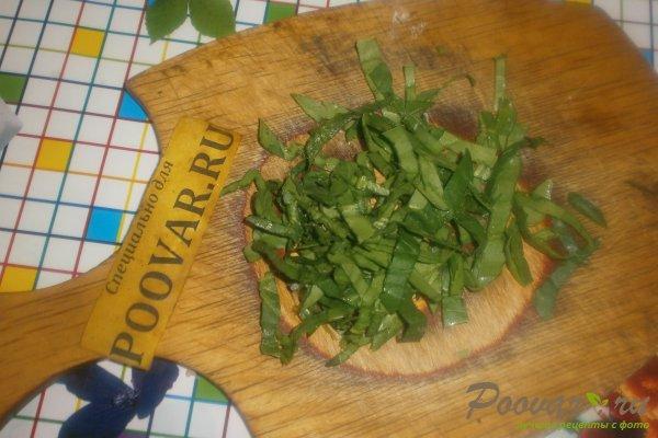Пицца с вялеными помидорами и шпинатом Шаг 11 (картинка)