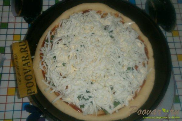 Пицца с вялеными помидорами и шпинатом Шаг 15 (картинка)