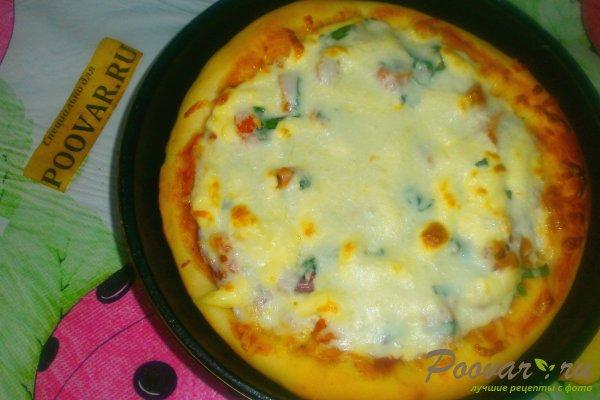 Пицца с вялеными помидорами и шпинатом Шаг 16 (картинка)