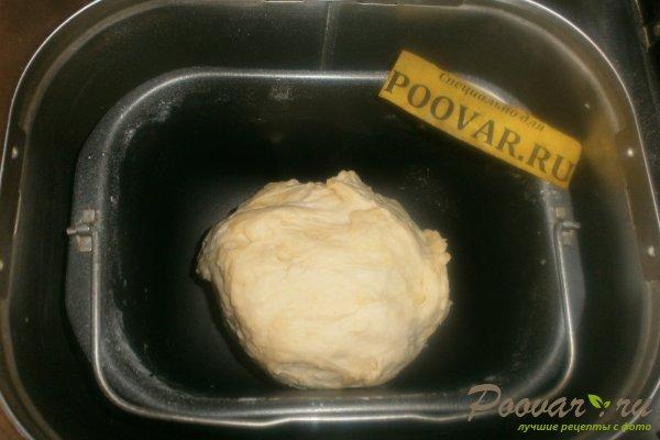 Слойки с сыром в духовке из дрожжевого теста Шаг 2 (картинка)
