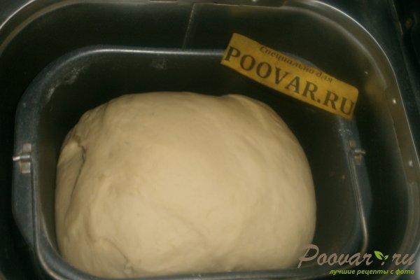 Слойки с сыром в духовке из дрожжевого теста Шаг 3 (картинка)