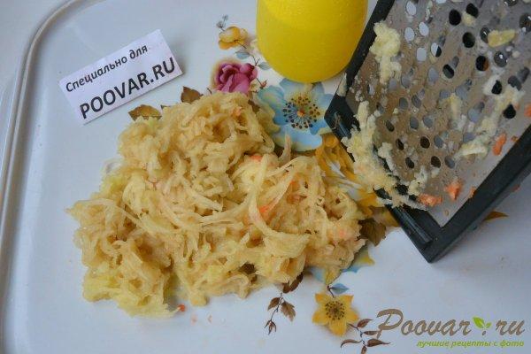 Салат из сырой свеклы, моркови и яблок Шаг 6 (картинка)