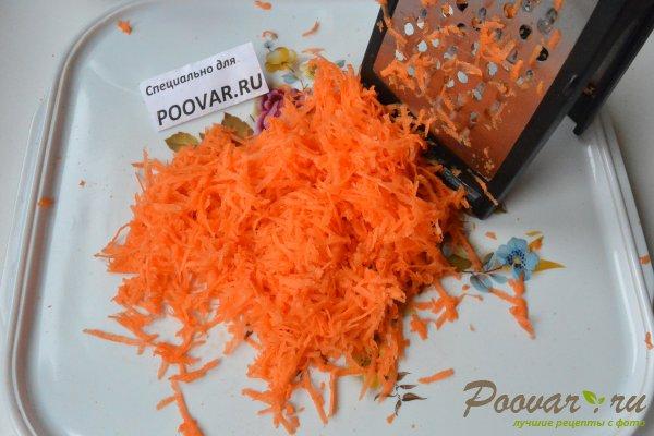 Салат из сырой свеклы, моркови и яблок Шаг 5 (картинка)