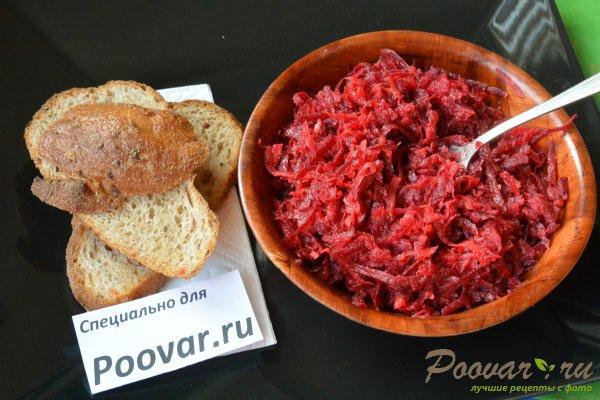 Салат из сырой свеклы, моркови и яблок Шаг 10 (картинка)