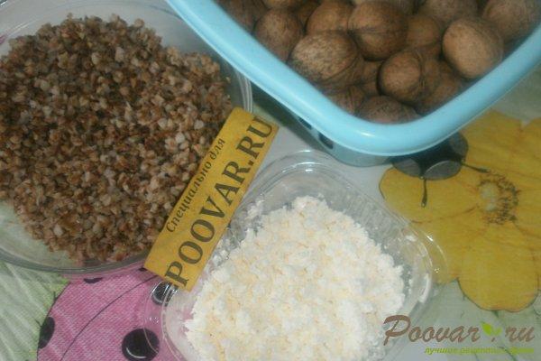 Творожные кексы с орехами и смородиной Шаг 1 (картинка)