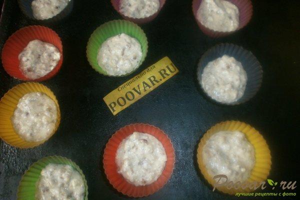 Творожные кексы с орехами и смородиной Шаг 10 (картинка)